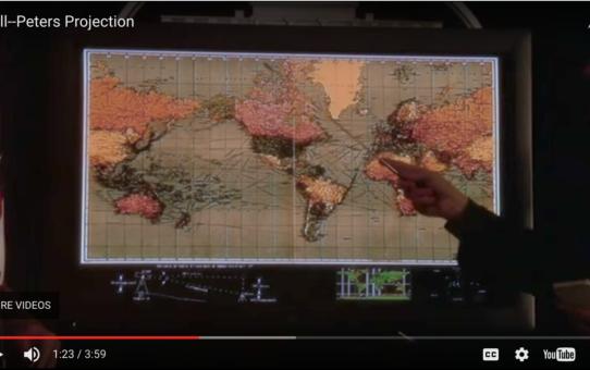 Leer el mundo en un mapa